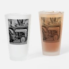 Vintage Tractor Collection Drinking Glass