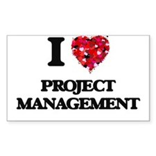 I Love Project Management Decal