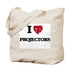 I Love Projectors Tote Bag