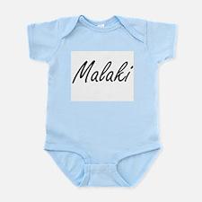 Malaki Artistic Name Design Body Suit