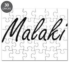 Malaki Artistic Name Design Puzzle