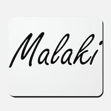 Malaki Artistic Name Design Mousepad