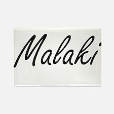 Malaki Artistic Name Design Magnets