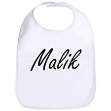 Malik Artistic Name Design Bib
