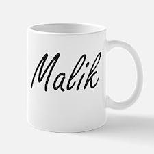 Malik Artistic Name Design Mugs