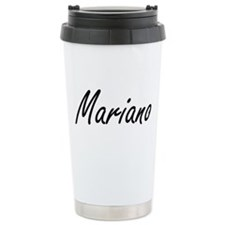 Mariano Artistic Name D Travel Coffee Mug