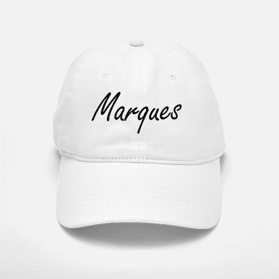 Marques Artistic Name Design Baseball Baseball Cap