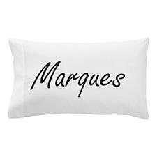 Marques Artistic Name Design Pillow Case