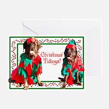 Christmas Tidings Greeting Card