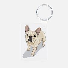 Cute French bulldog Keychains