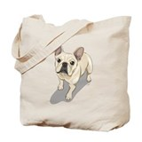 French bulldogs Canvas Totes