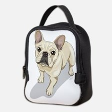 Funny French bulldog Neoprene Lunch Bag