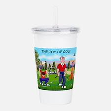 Joy of Golf 1 Acrylic Double-wall Tumbler