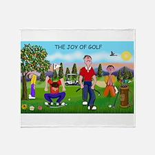 Joy of Golf 1 Throw Blanket