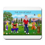 Golf lovers Classic Mousepad