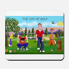 Joy of Golf 1 Mousepad