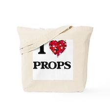 I Love Props Tote Bag