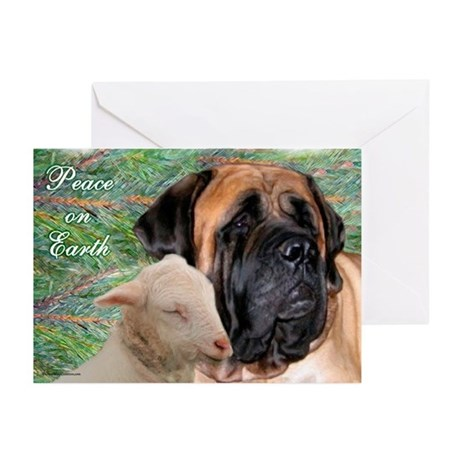 Peace on Earth1 Greeting Cards (Pk of 10)