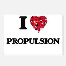 I Love Propulsion Postcards (Package of 8)