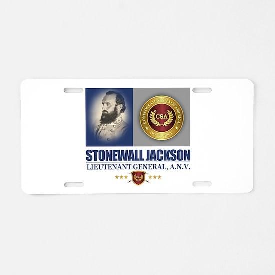 Jackson (C2) Aluminum License Plate