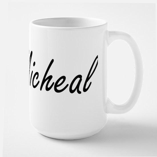 Micheal Artistic Name Design Mugs