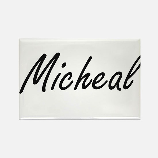 Micheal Artistic Name Design Magnets