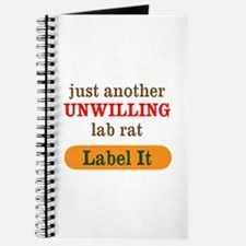Unwilling Lab Rat Journal