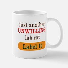 Unwilling Lab Rat Mugs