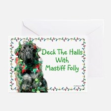 Mastiff Folly Greeting Cards (Pk of 20)