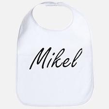 Mikel Artistic Name Design Bib