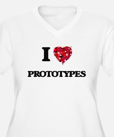 I Love Prototypes Plus Size T-Shirt