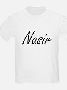 Nasir Artistic Name Design T-Shirt