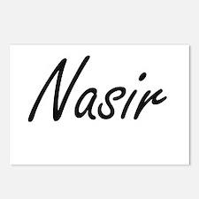 Nasir Artistic Name Desig Postcards (Package of 8)