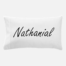 Nathanial Artistic Name Design Pillow Case