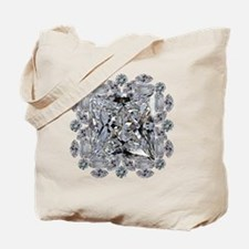 Diamond Gift Brooch Tote Bag