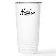 Nathen Artistic Name De Travel Mug