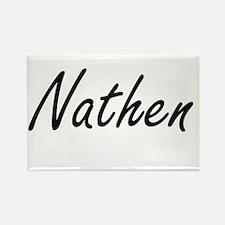 Nathen Artistic Name Design Magnets