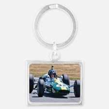 DAMION HILL LOTUS Landscape Keychain