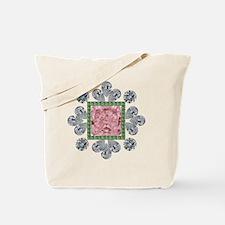 Pink Princess Diamond Tote Bag