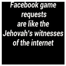 FACEBOOK JEHOVAH Poster