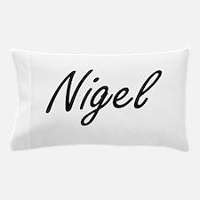 Nigel Artistic Name Design Pillow Case