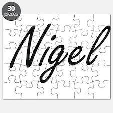 Nigel Artistic Name Design Puzzle