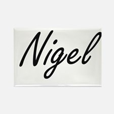 Nigel Artistic Name Design Magnets