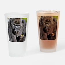 GORILLAS LUNCH Drinking Glass