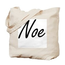 Noe Artistic Name Design Tote Bag