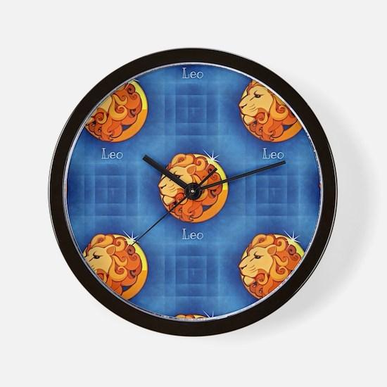 leo horoscope Wall Clock