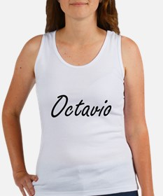 Octavio Artistic Name Design Tank Top