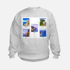 The Best Of The Amalfi Coast Sweatshirt