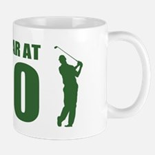 Golfer's 30th Birthday Mugs