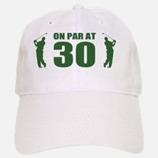 Golfer's 30th Birthday Baseball Baseball Cap